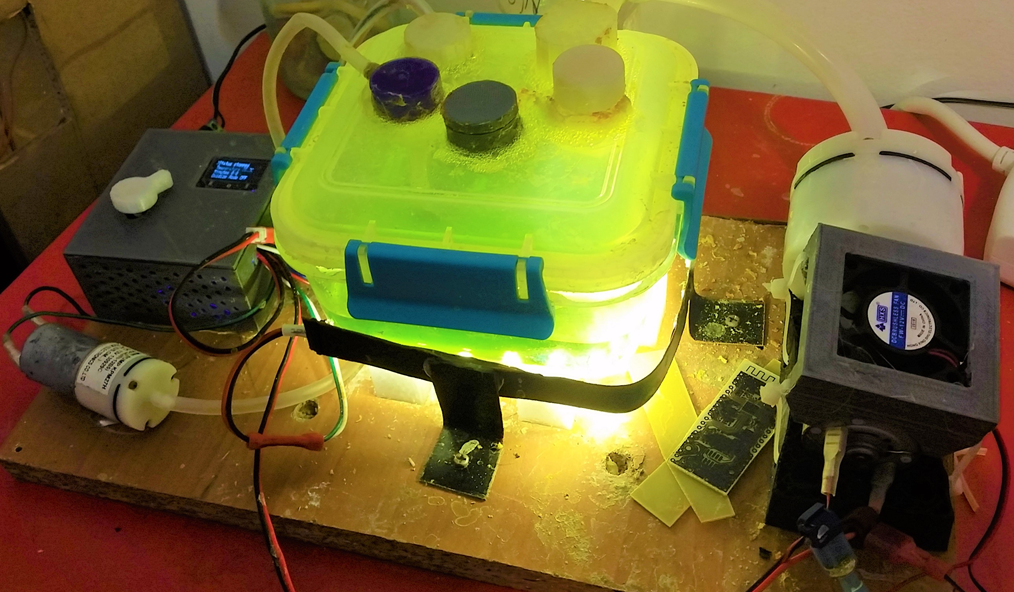 The complete PCB etching station - FennecLabs %